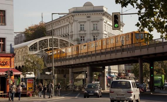 Berlijn Kreuzberg metrolijn