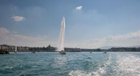 Fontein Meer van Genève