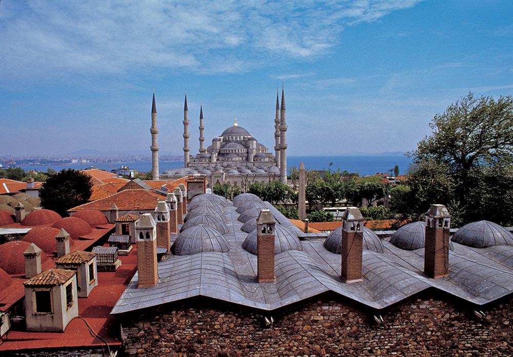 Istanbul Blauwe Moskee Bosporus