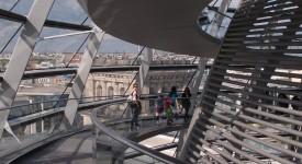 Rijksdag koepel met uitzicht
