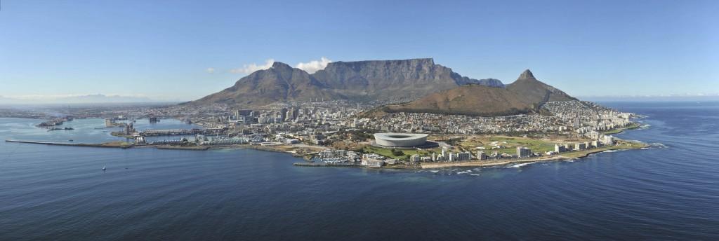 Kaapstad met stadion