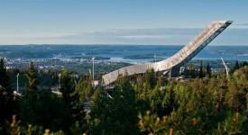 holmenkollen skischans oslo noorwegen