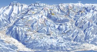 kaart skigebied portes du soleil