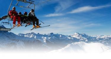 geniet van zon en sneeuw skilift frankrijk