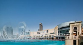 Dubai Mall met The Dubai Fountain