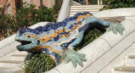 salamander of draak gaudi park guell
