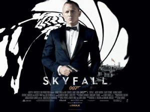 Skyfall poster James Bond London