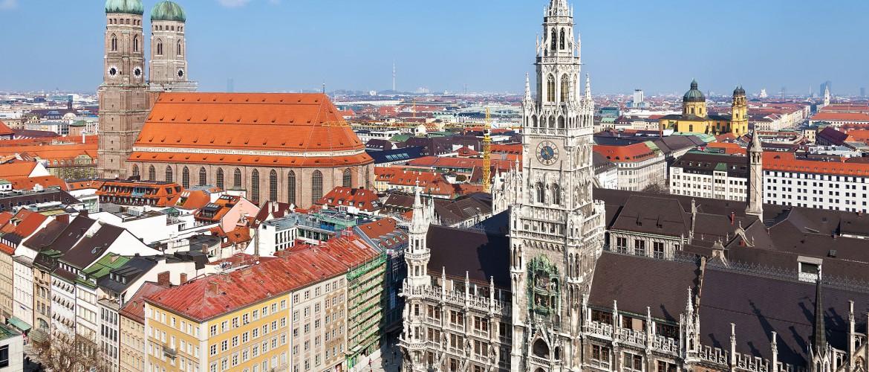 Stad Muenchen Beieren Duitsland