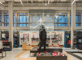 Nike Soho interieur stedentrip shoppen