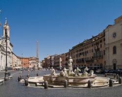 Piazza Navona kaart bezienswaardigheden Rome