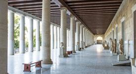 stoa van attalos oude agora athene
